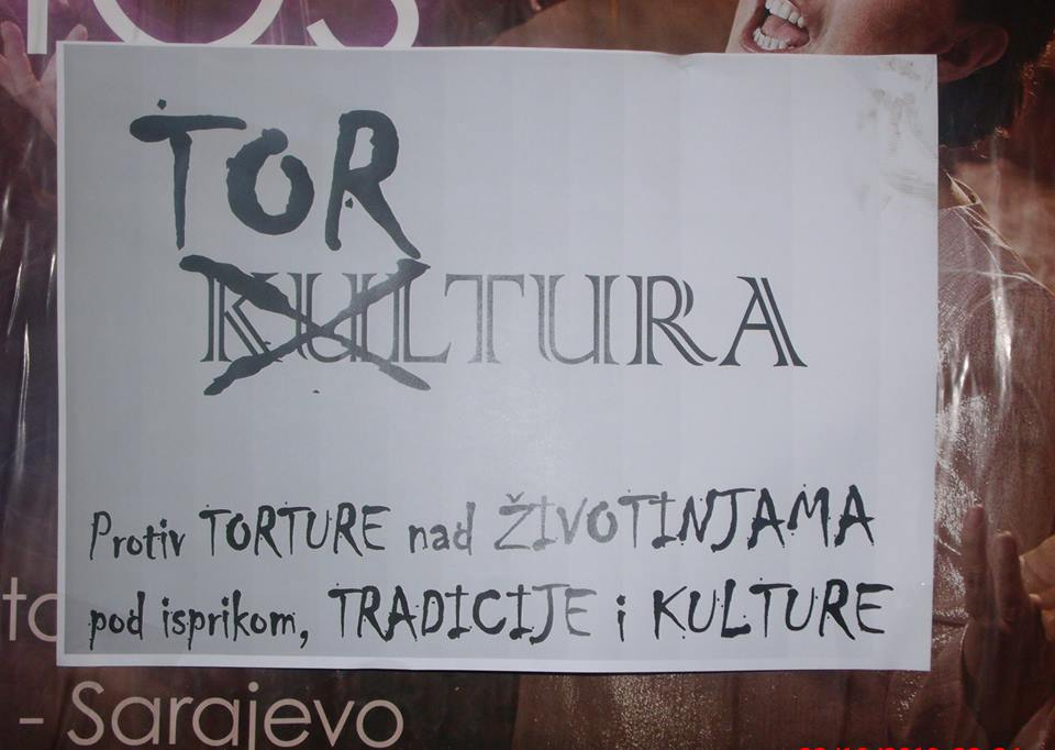 ACTIVISTS COVER SARAJEVO IN ANTI-KILL LAW POSTERS